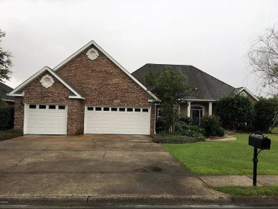 Gulfport Single Family Home For Sale: 15330 Overlook Dr
