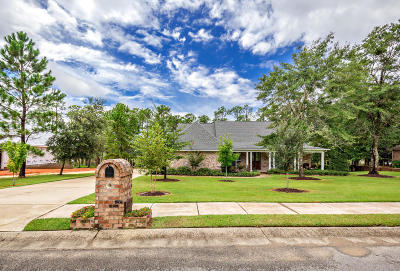 Ocean Springs Single Family Home For Sale: 10006 Sanctuary Blvd
