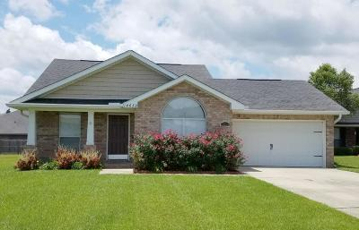Gulfport Single Family Home For Sale: 14633 Canal Crossing Blvd