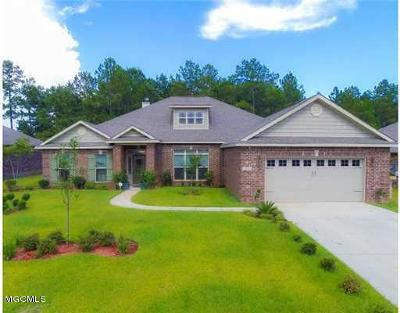 Gulfport Single Family Home For Sale: 10302 Hutter Rd