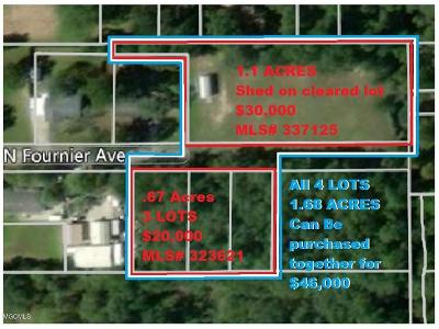 Residential Lots & Land For Sale: Fournier Ave