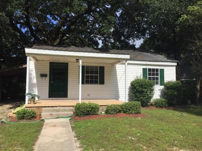 Gulfport Single Family Home For Sale: 2711 Pine Ave