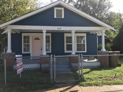 Biloxi Single Family Home For Sale: 416 Parker St
