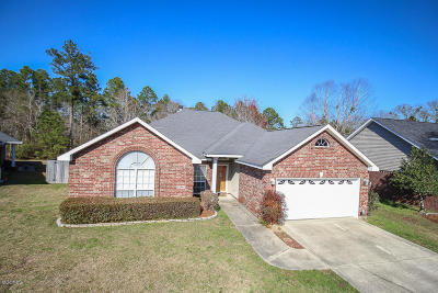 Gulfport Single Family Home For Sale: 13362 Carriage Cir