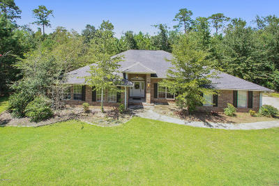 Diamondhead Single Family Home For Sale: 636 Banyan Pl