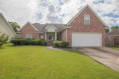 Gulfport Single Family Home For Sale: 11198 Cypress Bayou Dr