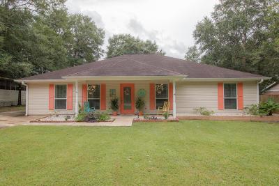 Diamondhead Single Family Home For Sale: 10414 Bayou Pl