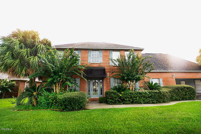 Gulfport Single Family Home For Sale: 19420 Champion Cir