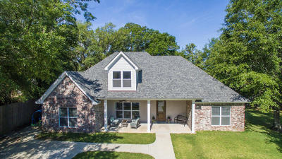 Gulfport Single Family Home For Sale: 853 Reed Ln