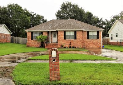 Gulfport Single Family Home For Sale: 1182 John Evans Dr