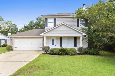 Gulfport Single Family Home For Sale: 4030 Southern Oaks Dr