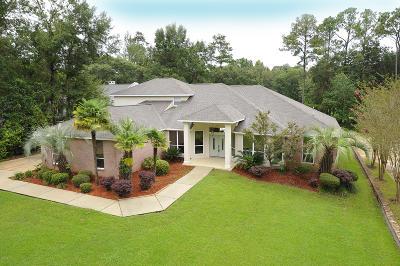 Diamondhead Single Family Home For Sale: 7621 Fairway Dr