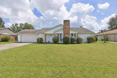 Gulfport Single Family Home For Sale: 15243 Barbara Dr