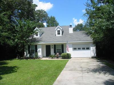 Diamondhead Single Family Home For Sale: 9528 Laa La Way