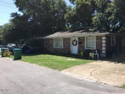 Biloxi Multi Family Home For Sale: 1703 Garden Park Dr
