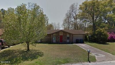 Biloxi Single Family Home For Sale: 15321 Lansing Dr