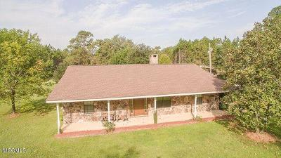 Ocean Springs Single Family Home For Sale: 14901 Glendale Rd