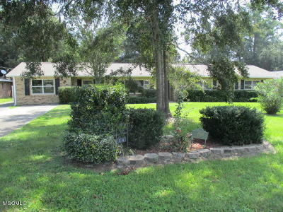 Gulfport Single Family Home For Sale: 4804 Jefferson Ave