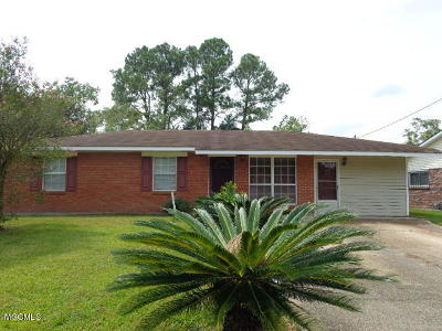 Biloxi Single Family Home For Sale: 7646 Madison Dr
