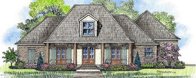 Ocean Springs Single Family Home For Sale: 3509 Oakleigh Cir