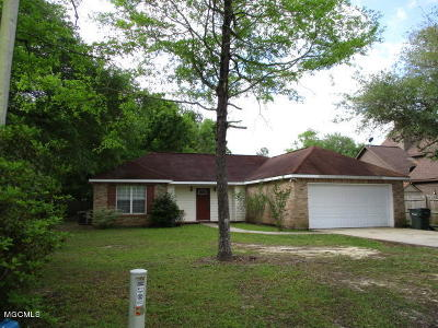Diamondhead Single Family Home For Sale: 6324 Anela Dr