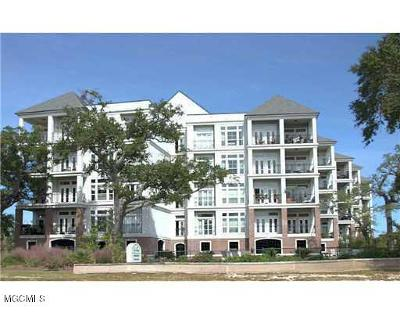 Pass Christian Condo/Townhouse For Sale: 1100 W Beach Blvd #308