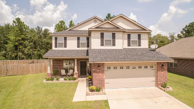 Gulfport Single Family Home For Sale: 14794 Canal Crossing Blvd