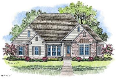 Gulfport Single Family Home For Sale: Lot 10 Carriagewood Dr