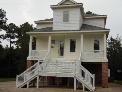 Diamondhead Single Family Home For Sale: 7518 Pinehurst Ct