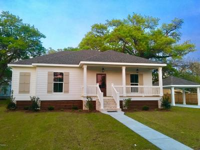 Waveland Single Family Home For Sale: 308 Nicholson Ave