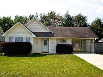 Gulfport Single Family Home For Sale: 12048 Harmony Cir