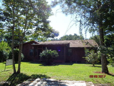 Waveland Single Family Home For Sale: 621 Jeff Davis Ave