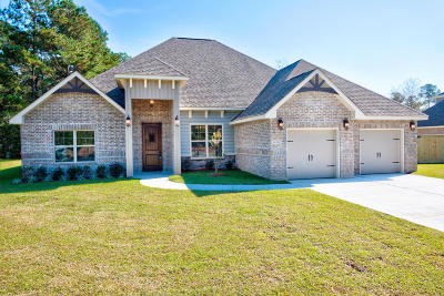 Gulfport Single Family Home For Sale: 14434 Duckworth Cove