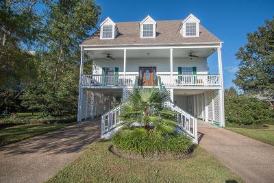 Gulfport Single Family Home For Sale: 65 Bayou Cir