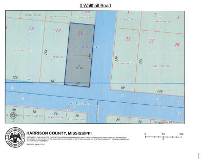 Pass Christian Residential Lots & Land For Sale: Walthall Rd