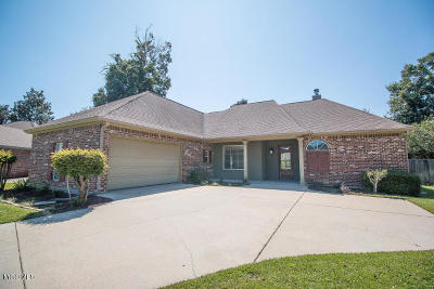 Biloxi Single Family Home For Sale: 739 Buddelia Cv