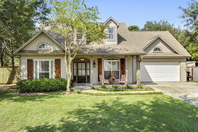 Waveland Single Family Home For Sale: 609 Taylor Trl