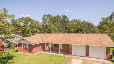 Gulfport Single Family Home For Sale: 11364 Oakleigh Blvd