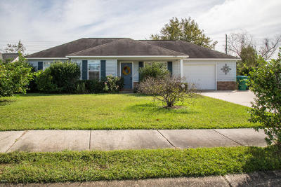 Gulfport Single Family Home For Sale: 11310 Fairfield Ln