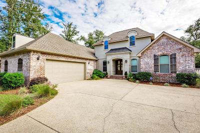 Ocean Springs Single Family Home For Sale: 3201 Oakleigh Cir