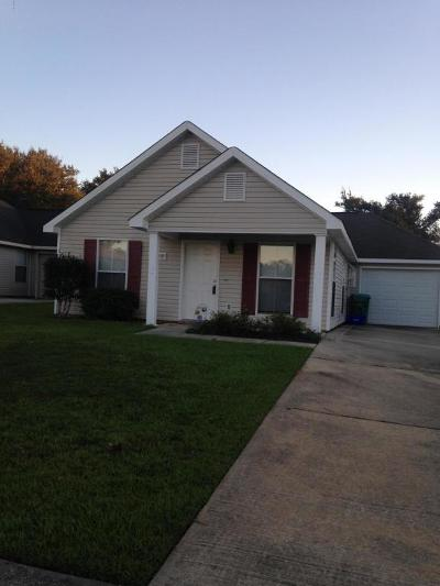 Gulfport Single Family Home For Sale: 13727 Churchwood Dr