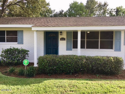 Biloxi Single Family Home For Sale: 2531 Orleans Rd