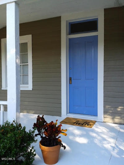 Gulfport Single Family Home For Sale: 1744 Magnolia St