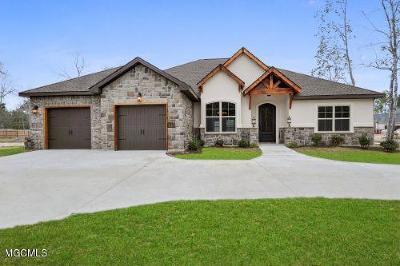 Ocean Springs Single Family Home For Sale: 5960 Sylvester St