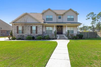 Ocean Springs Single Family Home For Sale: 6204 Mossy Oak Dr