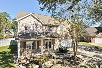 Ocean Springs Single Family Home For Sale: 4008 Lacroux Ct