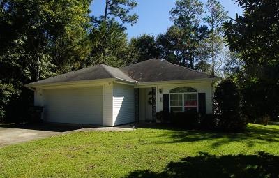 Diamondhead Single Family Home For Sale: 852 Op La Place Pl