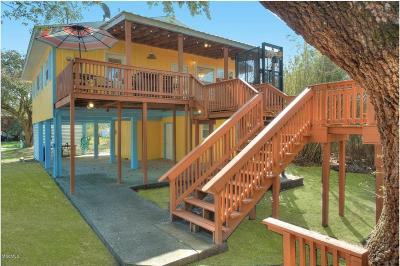 Pass Christian Single Family Home For Sale: 3477 Bayou Dr