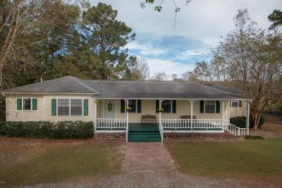Long Beach Single Family Home For Sale: 20466 Jones Mill Rd