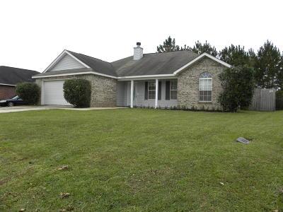 Ocean Springs Single Family Home For Sale: 7602 Falcon Cir